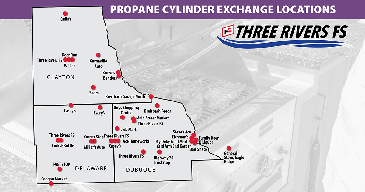 102082 Three Rivers maps Propane Cylinder